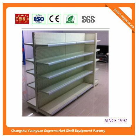 Metal Trade Equipment Retail Shelf Display Fixtures Show Case 07291