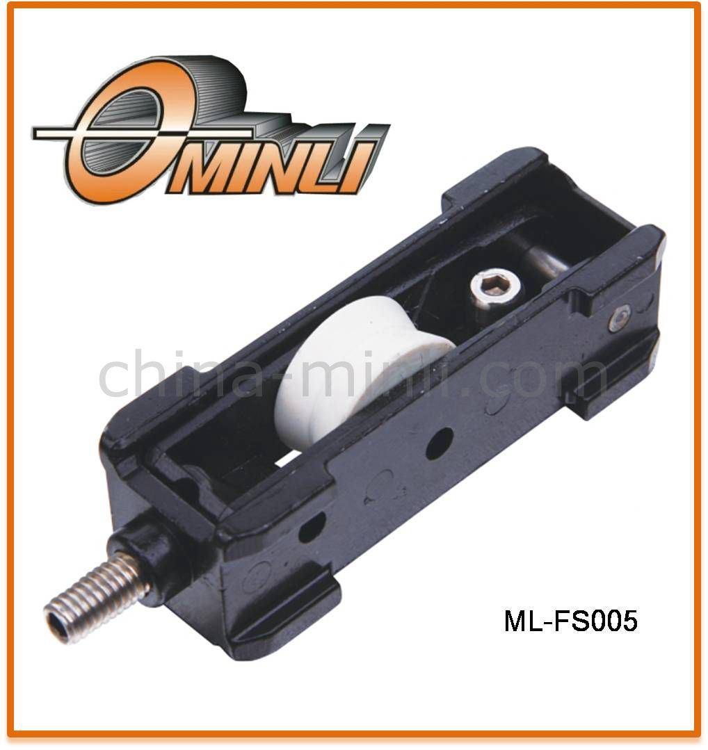 Zinc Bracket Pulley with Single Roller (ML-FS005)