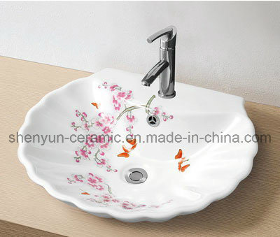 Porcelain Wash Basin Bathroom Basin (MG-0055)