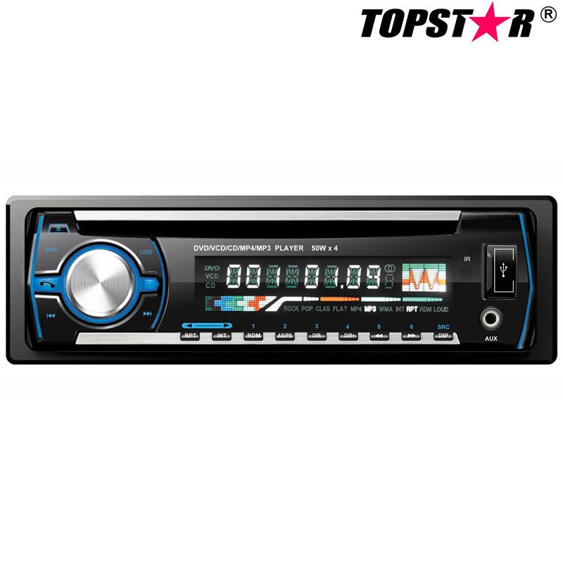 One DIN Detachable Panel Car DVD Player Ts-6002D