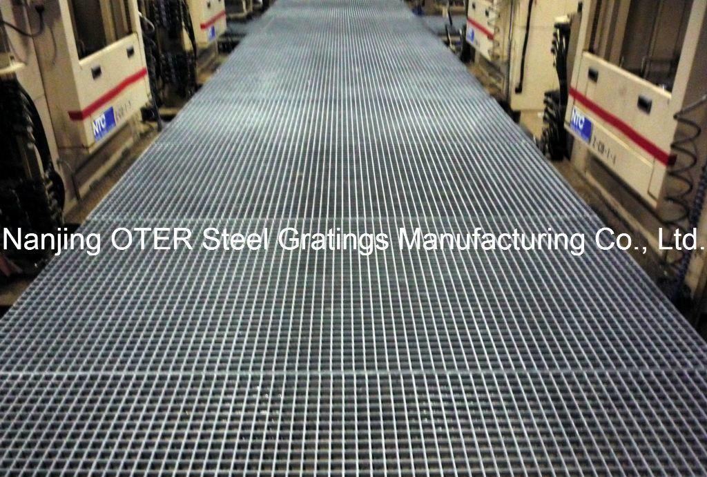Low Carbon Steel Bar Grating