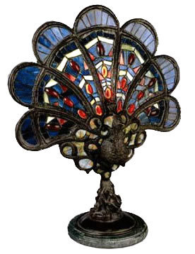 china tiffany lamp with peacock shape t010 china antique tiffany. Black Bedroom Furniture Sets. Home Design Ideas