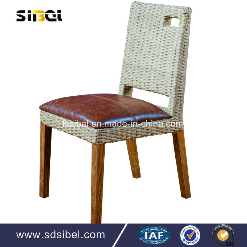 Rattant Material Dining Chair for Home and Hotel