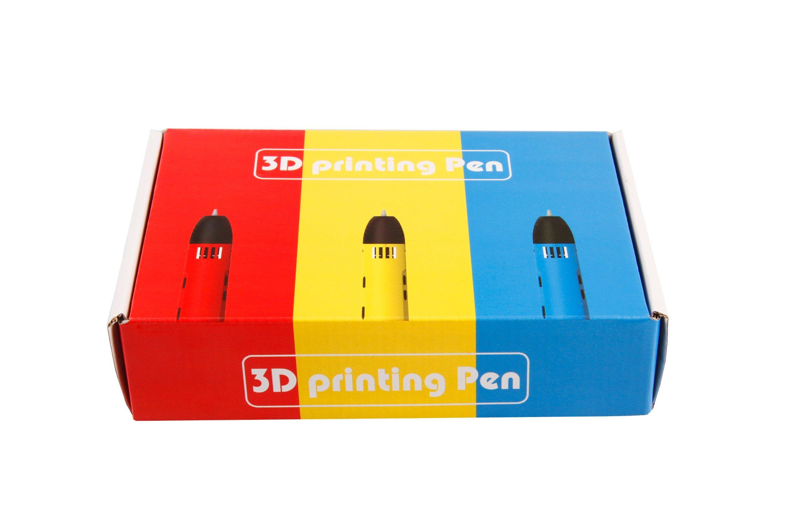 Children 3D Doodle Printing Pen 3D Promotional Pen Compatible ABS PLA + 3 Free PLA Filaments