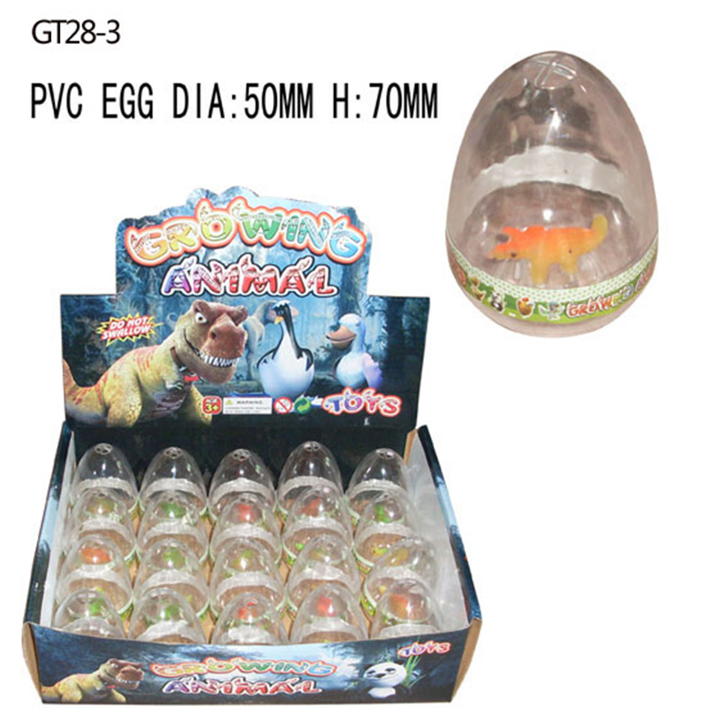 Factory Supplier Growing Dinosaur Egg Toys Magic Toys