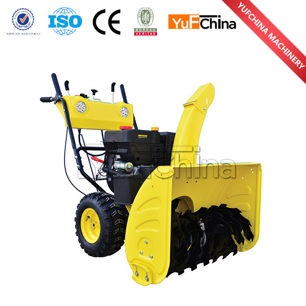 Powerful Snow Blower with Gasoline Engine