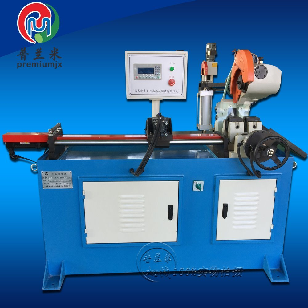 Simple Cutting Plm-Qg315nc Semi-Automatic Pipe Cutting Machine