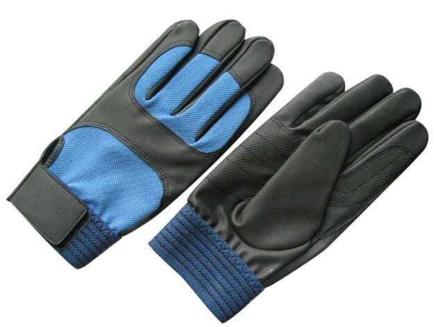 PU Reinforced Palm Mechanic Working Glove-7402