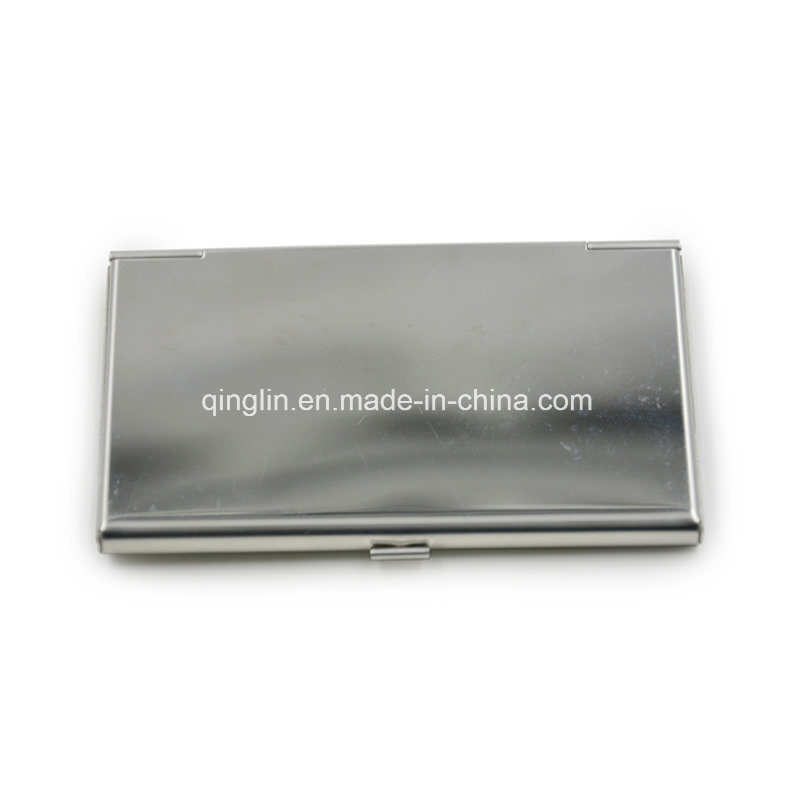 Custom Lady′s Metal Business Name Card Case