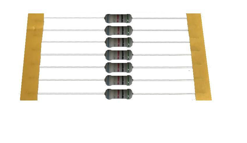 Cylindrical Thick Film High Ohm Resistor