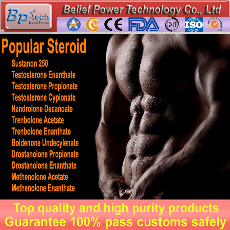 CAS: 10161-33-8 High Purity Muscle Building Injectable Steroid Trenbolone Enanthate