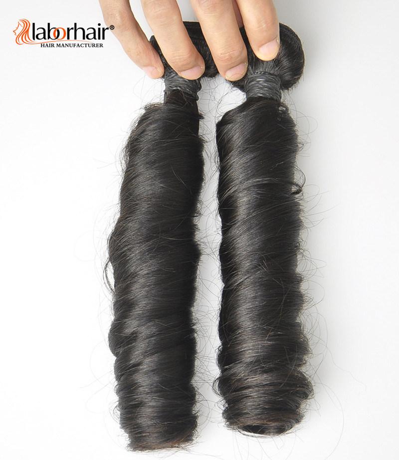 Unprocessed Labor Hair Extension 105g (+/-2g) /Bundle Natural Brazilian Virgin Hair Spring Curl 100% Human Hair Weaves Grade 8A