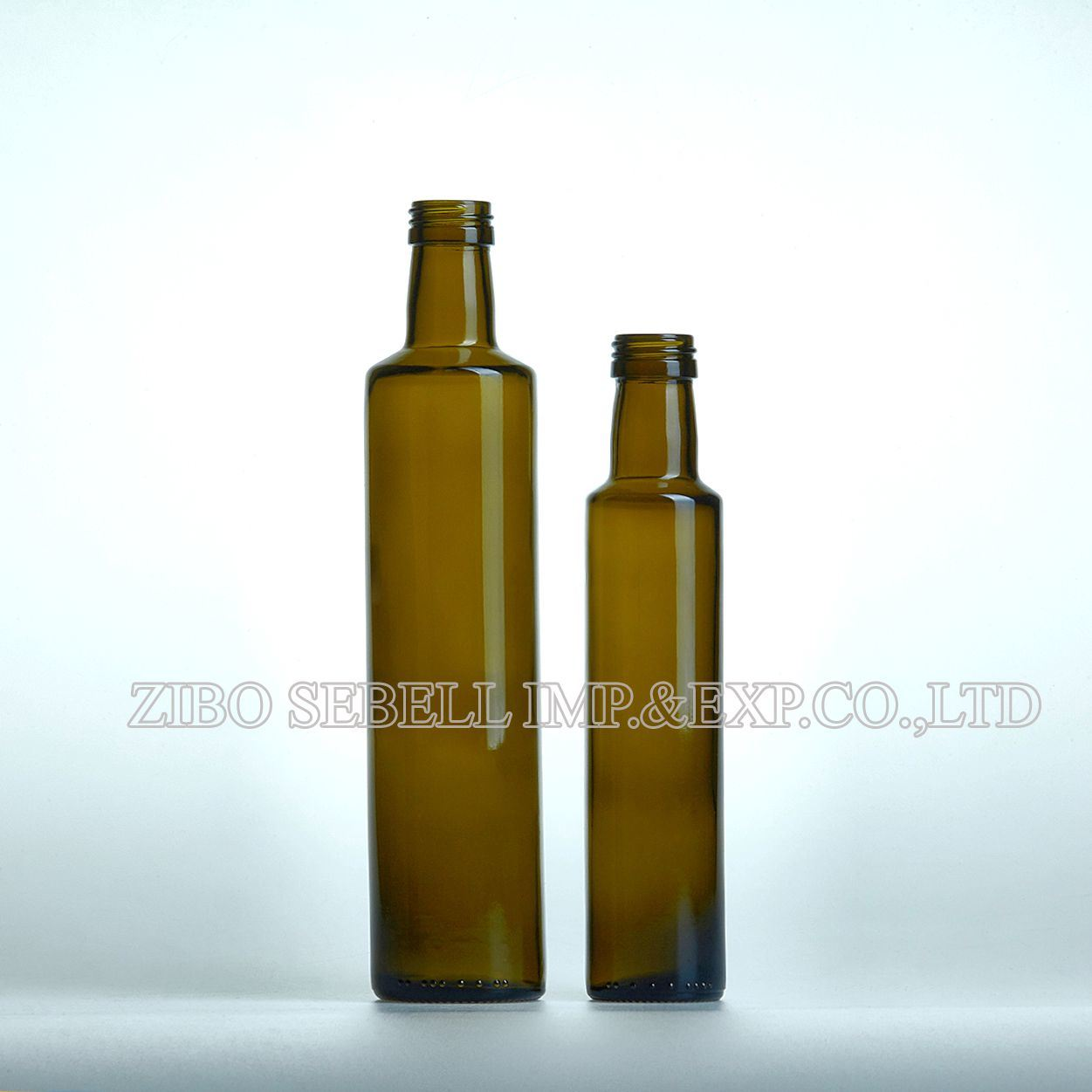 750ml Dark Green Glass Bottle for Wine with Cork Top (NA-010)