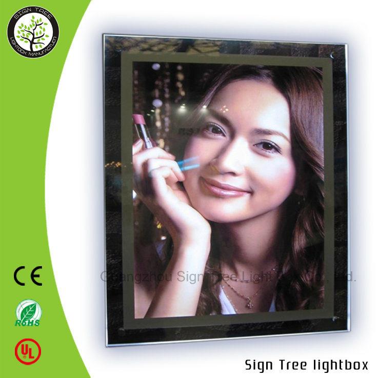 High Quality Ultrathin Slim Crystal Aluminum Snap Frame DIY LED Light Box