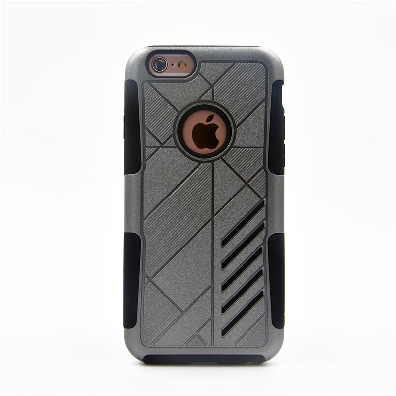 3 in 1 Combo Cases for iPhone7 7plus 6 6s Plus with Belt Cliparmor Hybrid Phone Cases Phone Accessories (XSSH -003)