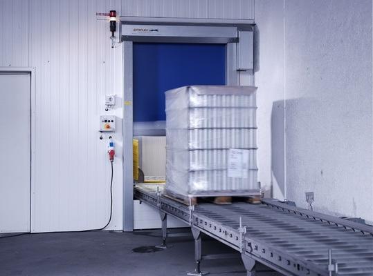 High Speed Door Insulated High Speed Roller Shutter Door Rapid Rolling Door (Hz-FC004)