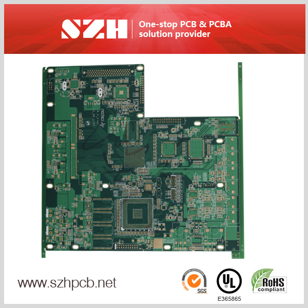 Fire Control System Rigid PCB Printed Circuit Board