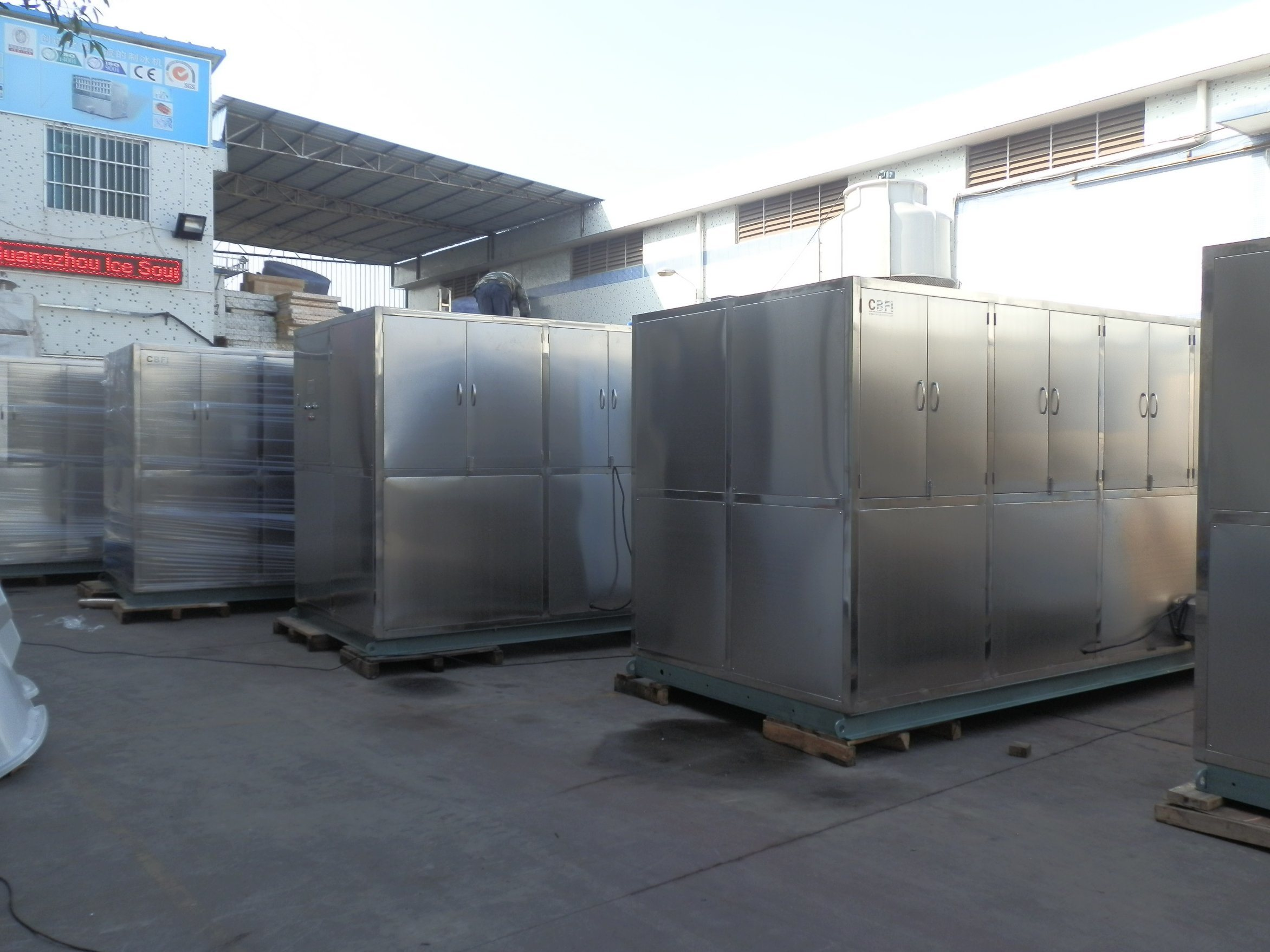 20 Tons Ice Cube Machine for Hotel, Bar, Restaurant