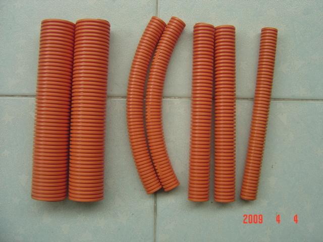 UPVC Flexible Conduit, Flexible Pipe, Corrugated Pipe, Corrugated Conduit
