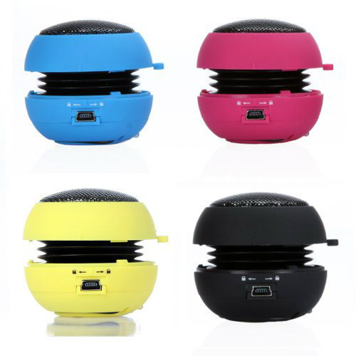 Mini Hamburger Shape Portable Wireless 3.5mm Plug USB Speaker
