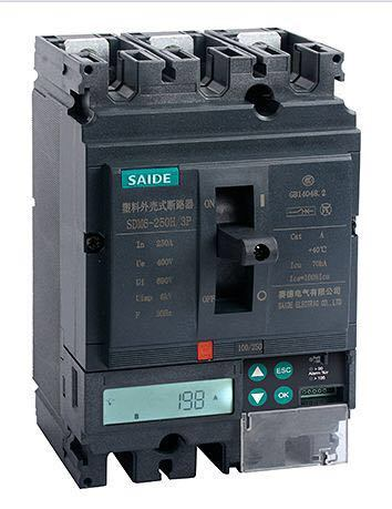 Sdm6 MCCB Intelligent Moulded Case Circuit Breaker
