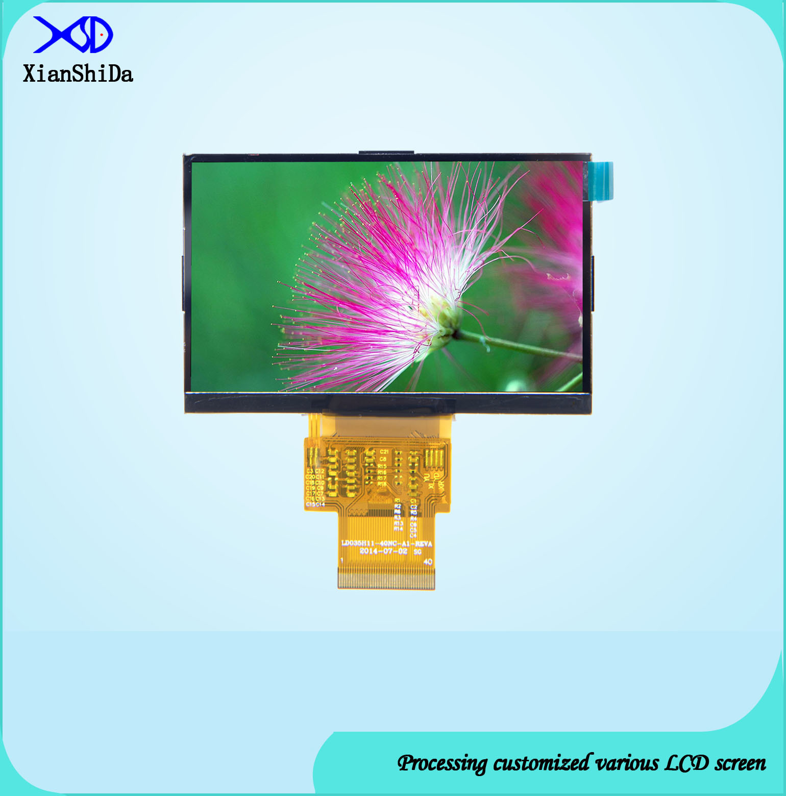 3.51 Inch LCD Display 480 (RGB) X272 Resolution