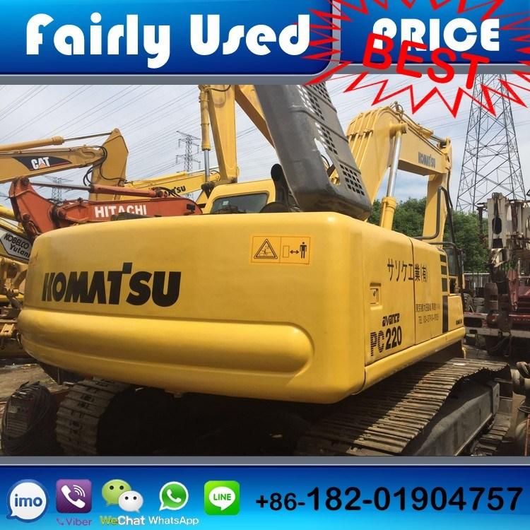 Good Quality Used Japan Komatsu PC220-6 Hydraulic Excavator (digger)