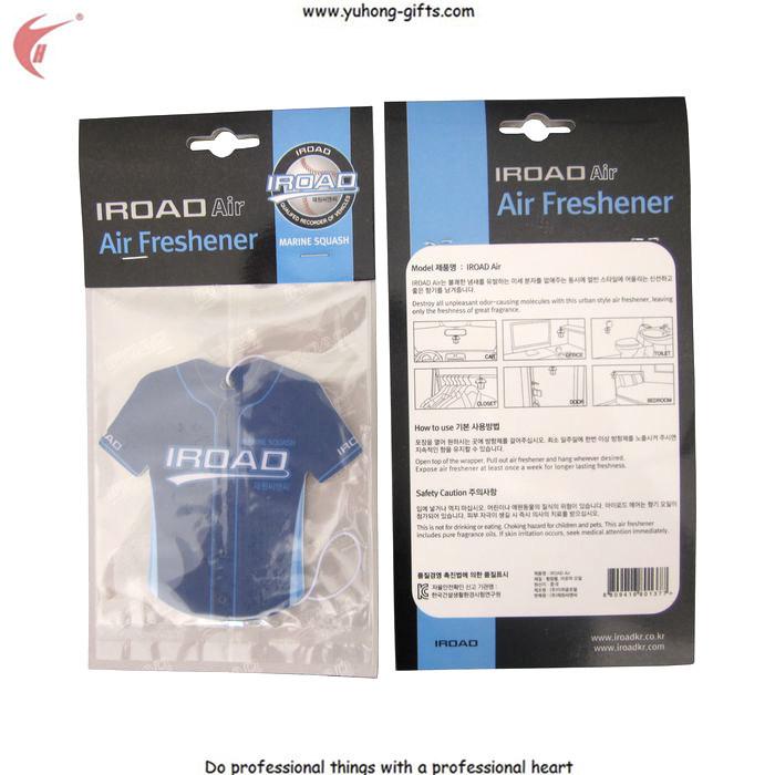 2016 Different Kinds of Fragrances Hanging Air Freshener for Garments (YH-AF071)