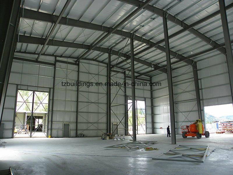 Single Span Pre-Engineered Steel Frame Buildings