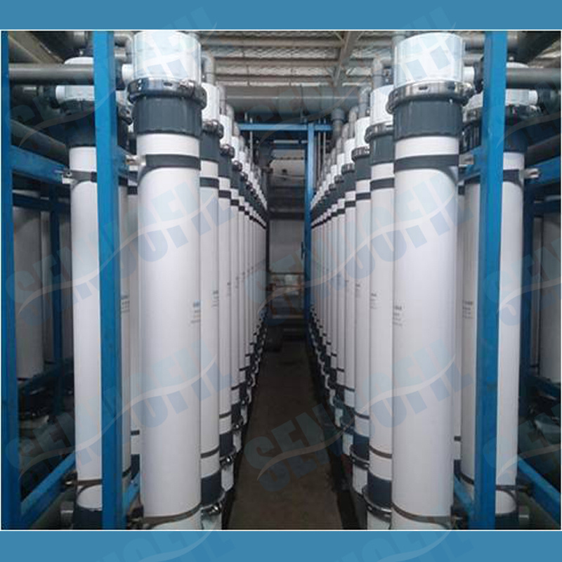 Senuofil Outside-in Module Softener Ultrafiltration Water Filter Treatment with UF Membrane