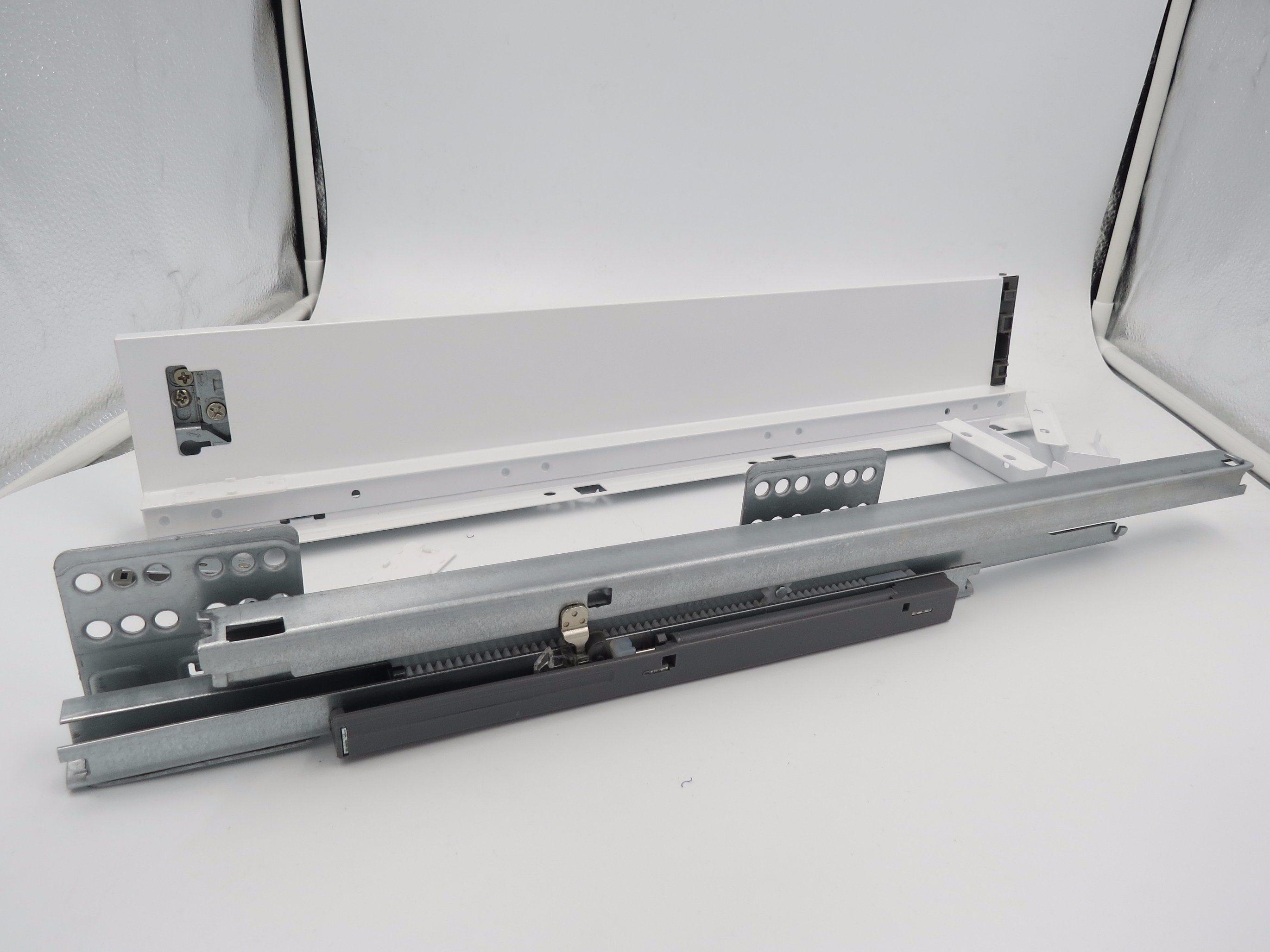199 mm Height with Soft Close Concealed Drawer Slides Elegant Box Metal Box Tendem Box