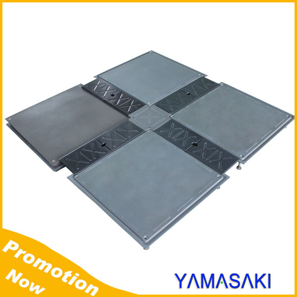 Standard Cable Trunking Panel Steel Access Raised Floor
