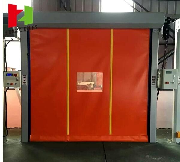 Self Repair Manifesto Radar Control Fast Speed PVC Folding Door (Hz-FC0255)