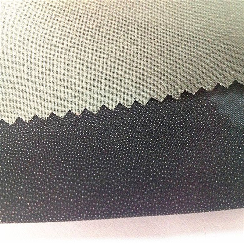 100% Polyester Twill 50d Fusible Woven Knitted Interlining&Lining Fabric
