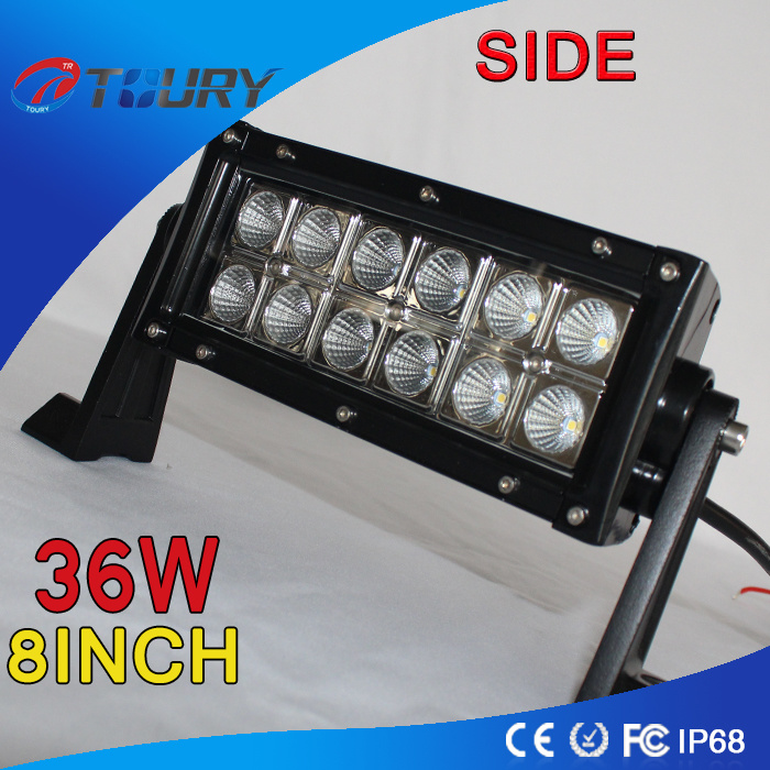 Auto Accessories 36W 8inch for Car IP68 LED Work Light Bar