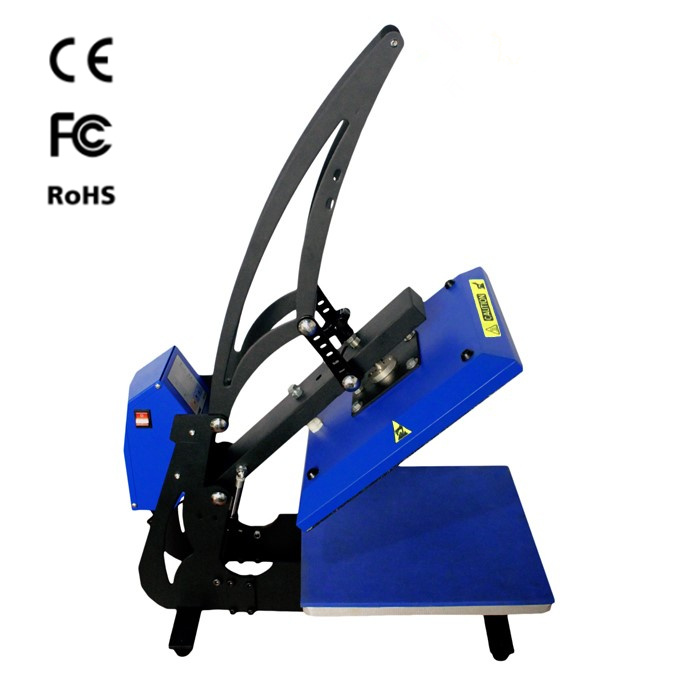 CE Approved High Pressure Heat Transfer Press Machine for T-Shirt Printing