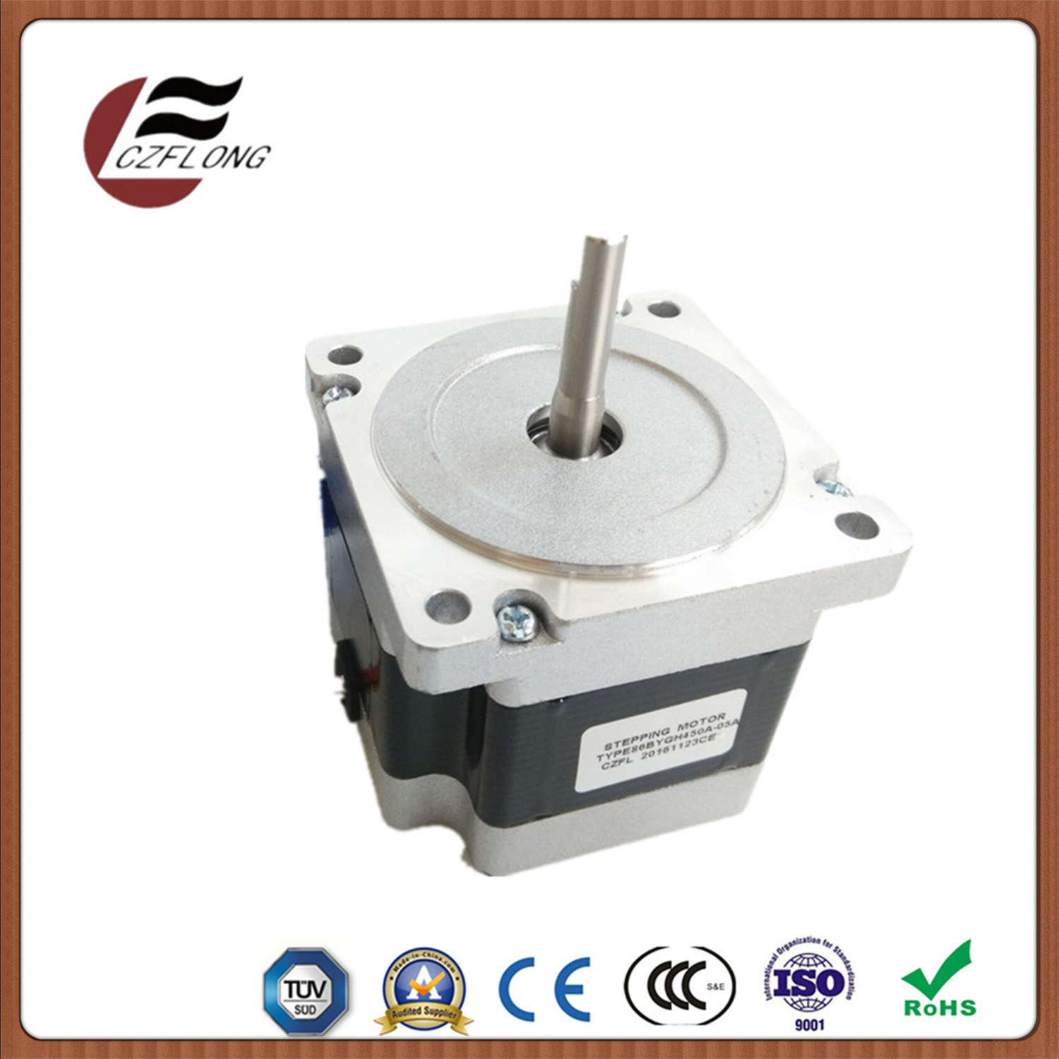 1.8 Deg NEMA34 86mm Stepping Motor Wide Application
