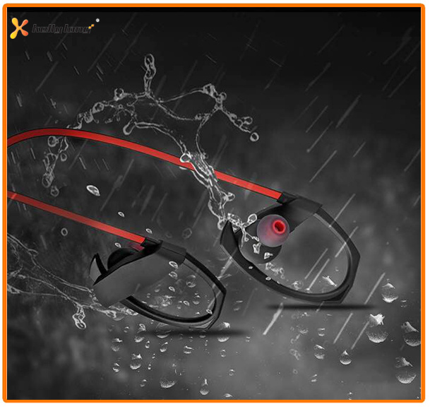 Stereo Waterproof Wireless Sports Bluetooth Headphone Wireless Bluetooth Headset Earphone