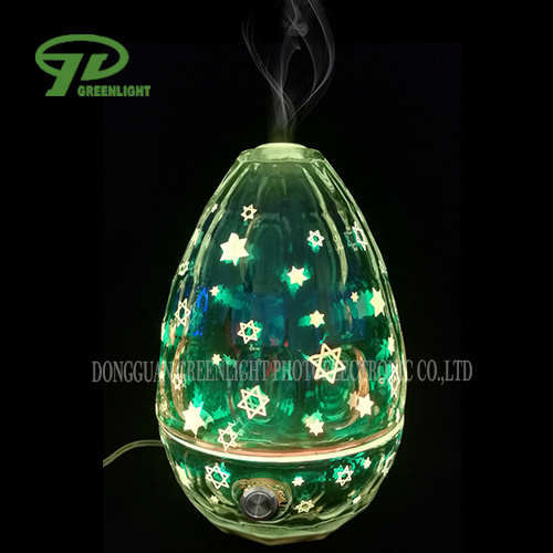 Aroma Diffuser with 3D Effect and LED Changing Lights (GL-1001-D-3)