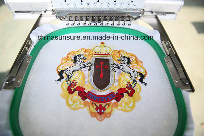 2016 New Single Head Embroidery Machine (1201-S) Embroidery
