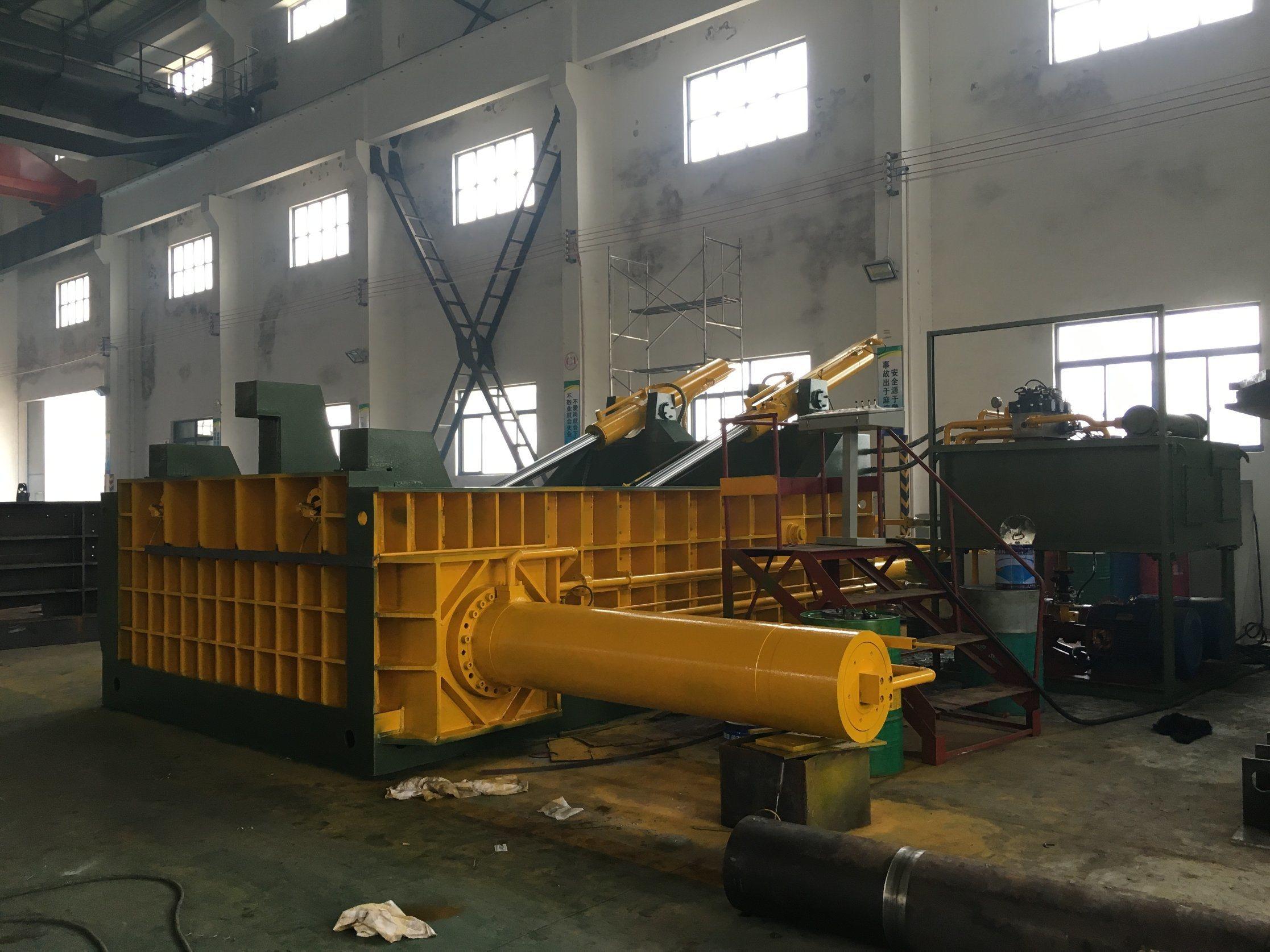 Y81F-1000 Hydraulic Scrap Metal Baler Machine