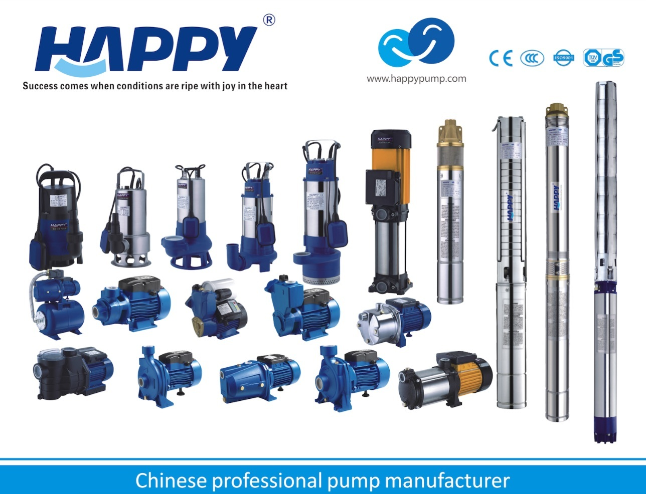 Water Pump Happy Brand