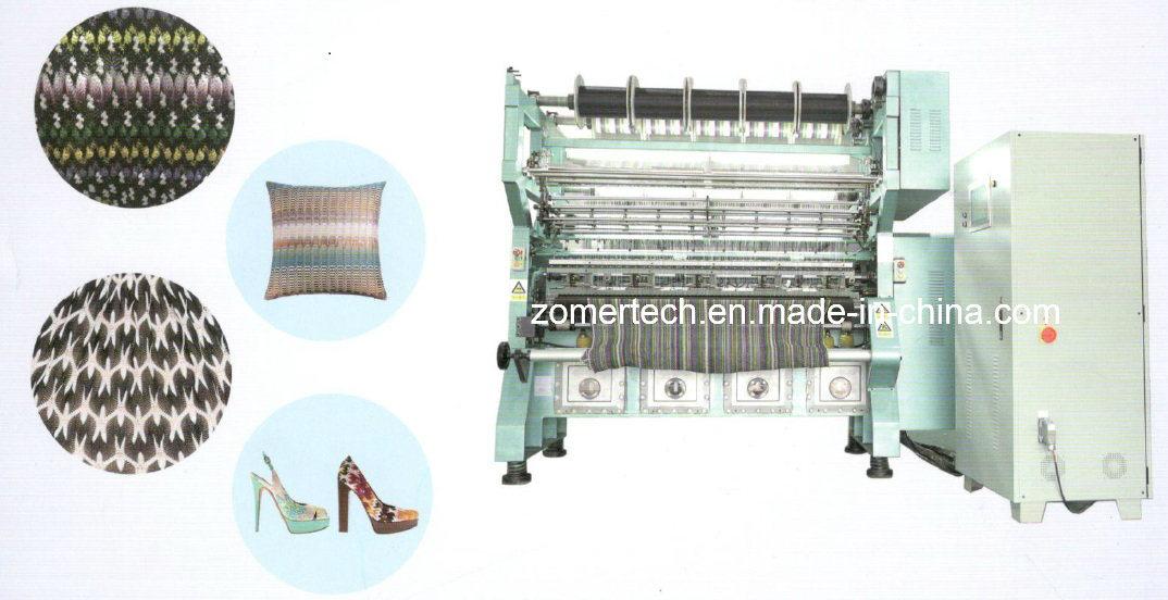 Piezo Jacquard Warp Knitting Machine in Textile Area