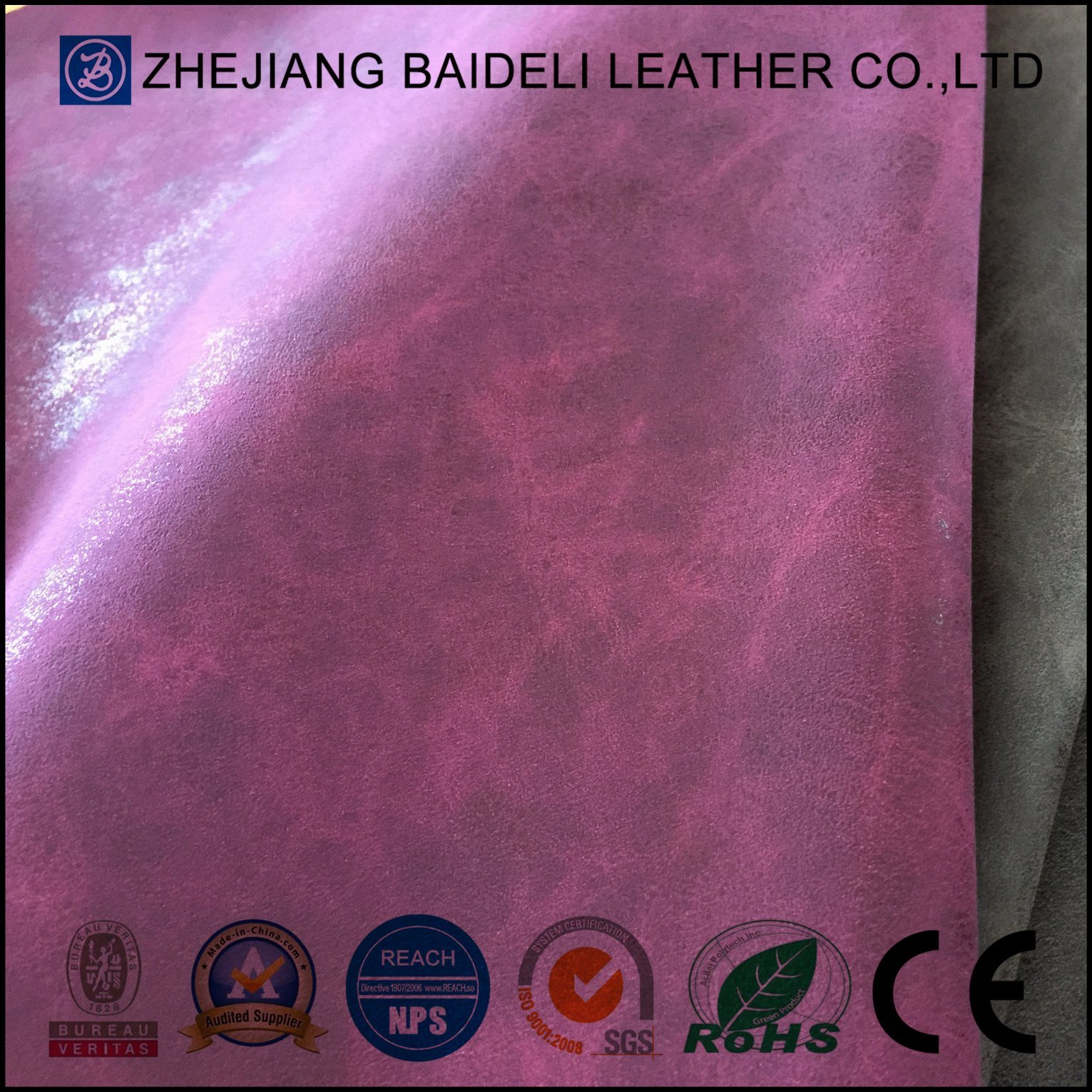 Furniture PU/PVC Leather for Boots Shoes Bag