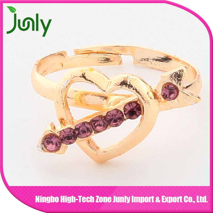 Heart Shaped Ring Designs for Girls Latest Model Ring