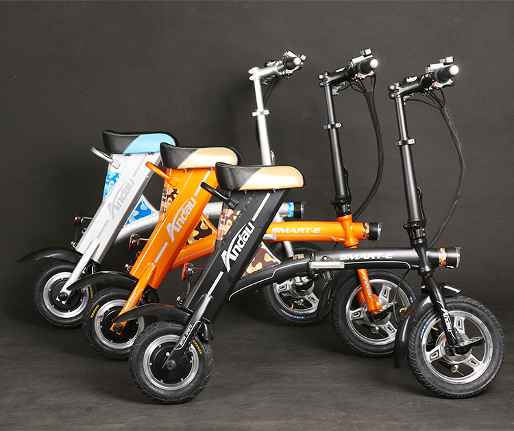 36V 250W Folding Electric Bicycle Electric Scooter Electric Motorcycle Folded Scooter