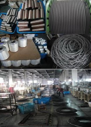 High Tensile Black Outer Yarn Braided Hose Rubber Tube