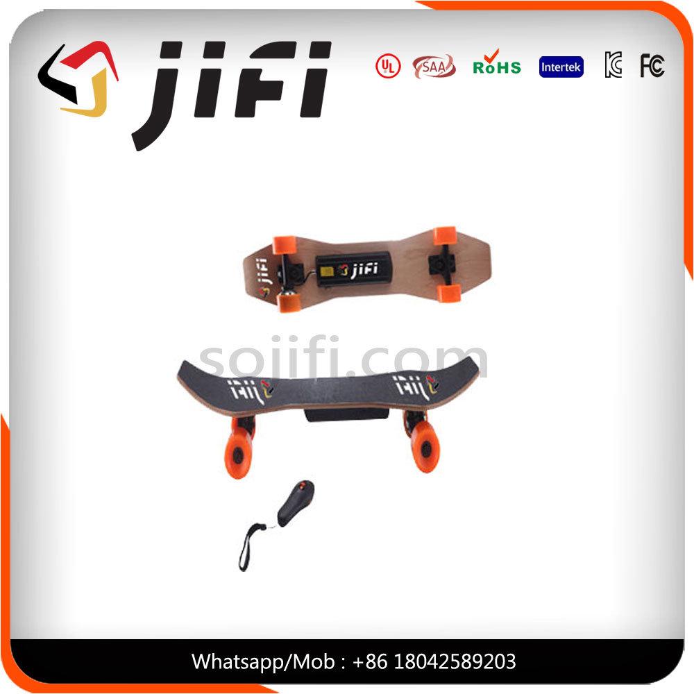 Cool 4 Wheels One Motor Electric Skateboard