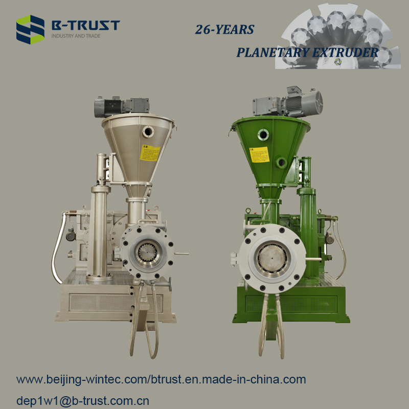 Best Plasticizing Effect Plastic Extruder with Planetary Roller
