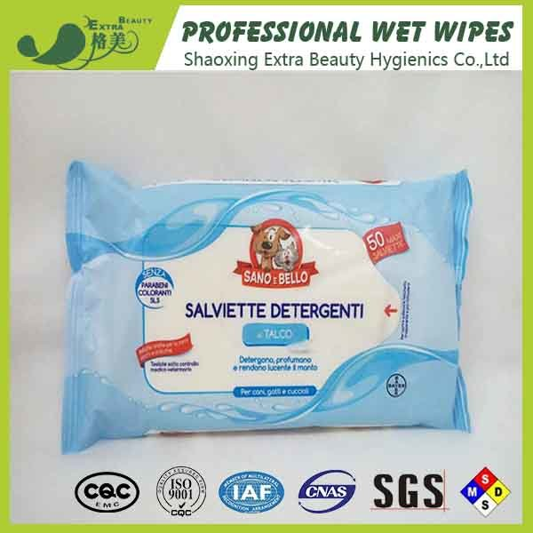 Clean Dogs Body Paws Pet Facial Cleansing Wipes
